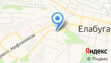 Елабужский детский дом на карте