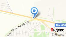 АЗС ТрансНефтеПродукт на карте