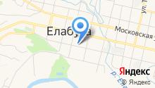 Елабужское медицинское училище на карте