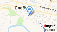 Центр занятости населения г. Елабуги на карте