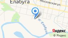 Елабужское суворовское военное училище МВД РФ на карте