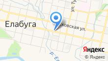 Управление образования исполнительного комитета Елабужского муниципального района, МКУ на карте
