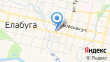 Управление образования исполнительного комитета Елабужского муниципального района на карте