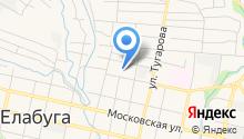 ОВД по Елабужскому району на карте