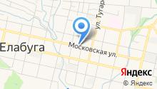 Музей-усадьба Н.А. Дуровой на карте
