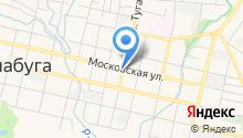На Московской на карте