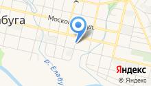 Дом памяти М.И. Цветаевой на карте