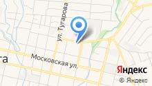 Казанский Федеральный университет на карте