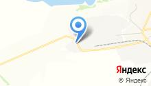 Камский сапропель на карте
