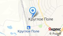 Магазин бытовой химии и посуды на ул. Строителей на карте