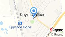 Круглопольская сельская библиотека на карте