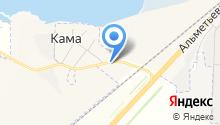 АудиоМастер на Каме на карте