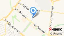 Люстроград на карте