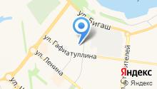 Магазин хозяйственных и канцелярских товаров на карте