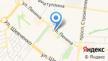 Нур-Пласт на карте