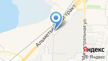 D & M на карте