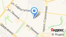 Гимназия №1 им. Ризы Фахретдина на карте
