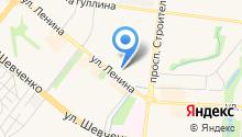 Бастионъ на карте