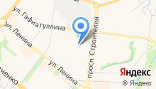 Лицей №2 г. Альметьевска на карте