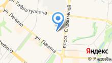 Мяскоф на карте