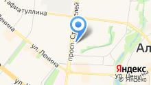 Кубышка на карте