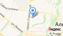 Овощная лавка на проспекте Строителей на карте