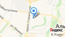 Метеор на карте