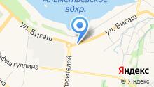 Бизнес план - Разработка бизнес плана в Альметьевске на карте