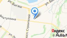 Казанский национальный исследовательский технический университет им. А.Н. Туполева-КАИ на карте