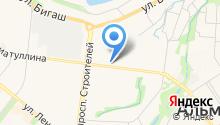 Государственная инспекция Республики Татарстан по обеспечению государственного контроля за производством, оборотом и качеством этилового спирта на карте