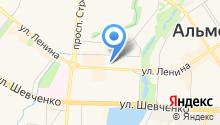 Библиотека Дворца Культуры Нефтьче на карте