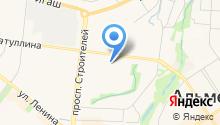 Мастерская по ремонту обуви на ул. Гафиатуллина на карте