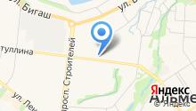 Магазин мультимедийных дисков на ул. Гафиатуллина на карте