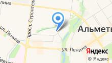 Альметьевский краеведческий музей на карте