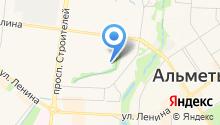 Альметьевская детская художественная школа №2 на карте