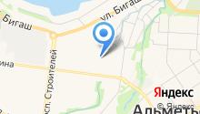 Магазин овощей и фруктов на ул. Гафиатуллина на карте