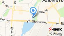 Аппарат мировых судей г. Альметьевска на карте