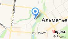 Альметьевский музыкальный колледж им. Ф.З. Яруллина на карте