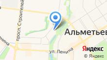 Альметьевская детская музыкальная школа №1 на карте