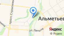 Альметьевская детская музыкальная школа №1 им. Р.Н. Нагимова на карте