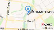 Магазин ритуальных услуг на ул. Марджани на карте