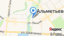 Альметьевская городская прокуратура на карте
