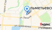 Детский сад №21, Гвоздика на карте