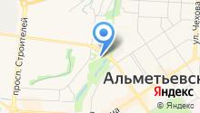 ЗАГС г. Альметьевска на карте