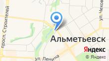 Мастерская по ремонту обуви на ул. Белоглазова на карте
