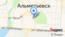 Альметьевская детская музыкальная школа №2 на карте