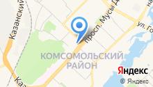 EMS Russian Post на карте