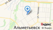 Альметьевский сервисный центр жилья на карте