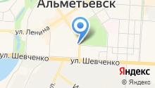 Альметьевский государственный институт муниципальной службы на карте