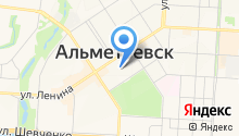 Альметьевский татарский государственный драматический театр на карте